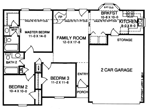 Quote form for plan 11 06b belk design and marketing llc for Larry e belk home designs