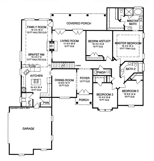 House plan 27 26 belk design and marketing llc for Larry e belk home designs