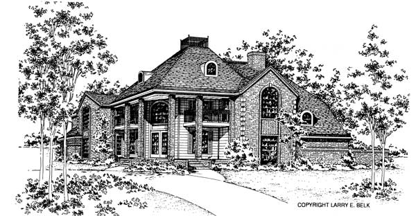 House plan 34 01 belk design and marketing llc for Larry e belk home designs