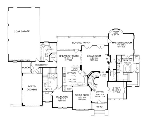 House plan 42 05 belk design and marketing llc for Larry e belk home designs