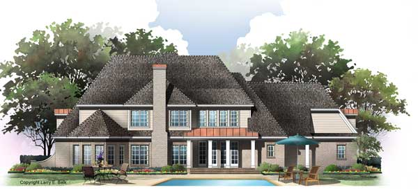 House plan 45 07 belk design and marketing llc for Larry e belk home designs