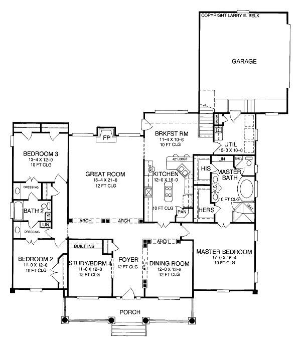 Quote form for plan 26 27 belk design and marketing llc for Larry e belk home designs