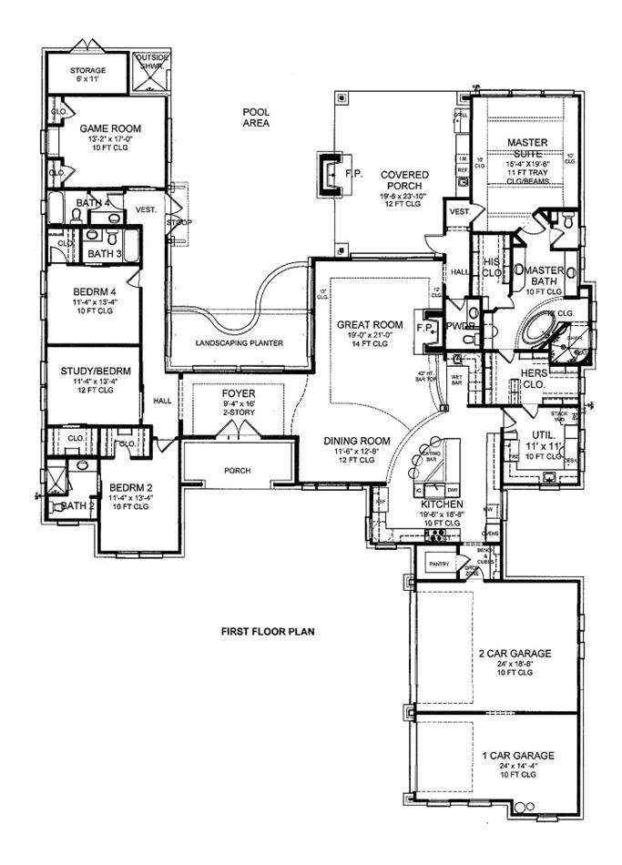 House plan 33 22 belk design and marketing llc for Larry e belk home designs