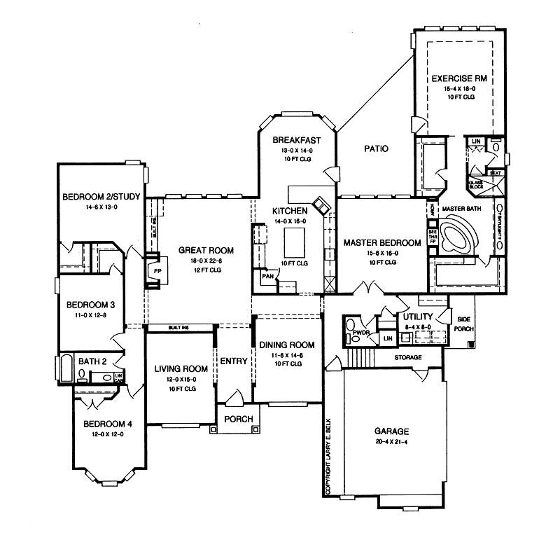 House plan 34 05 belk design and marketing llc for Larry e belk home designs