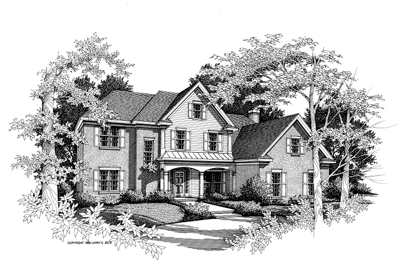 House plan 34 07 belk design and marketing llc for Larry e belk home designs