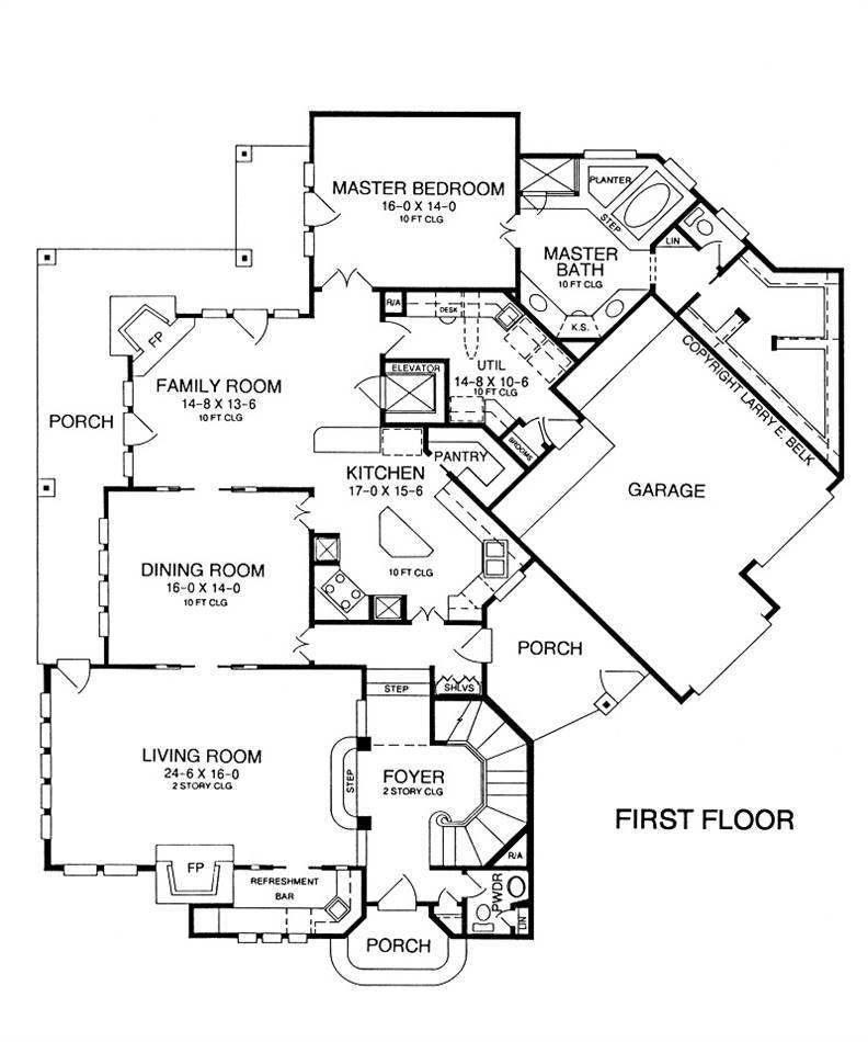 House Plan 39-04 | Belk Design and Marketing LLC