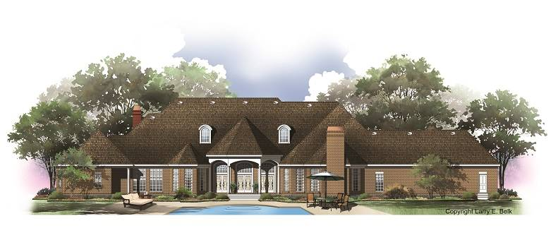 House plan 68 01 belk design and marketing llc for Larry e belk home designs