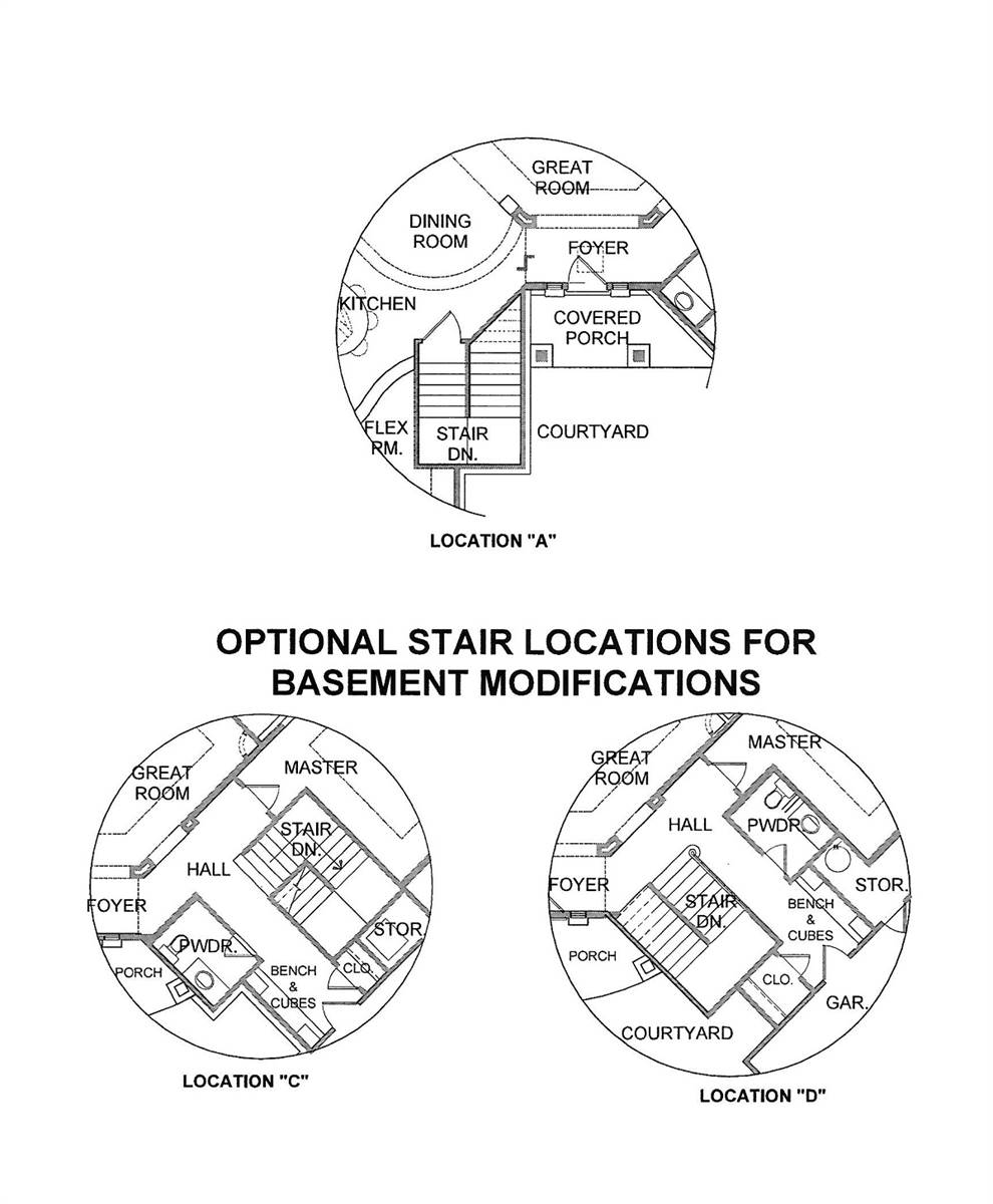 Staircase Options